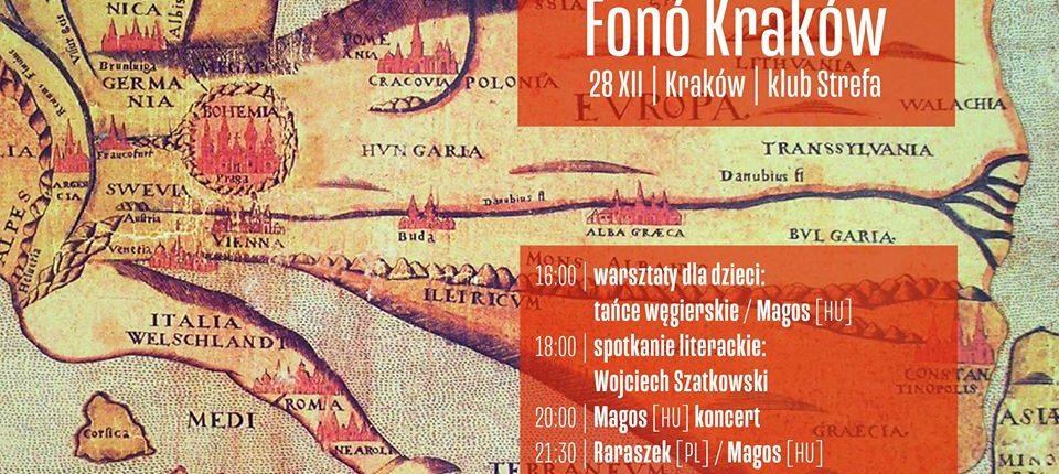 MAGOS koncert és táncház a krakkói Fonó Klubban
